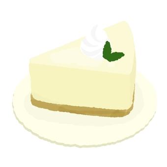 Creamy rare cheese cake 2