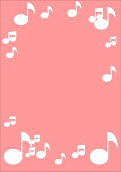 Music frame 2 A4