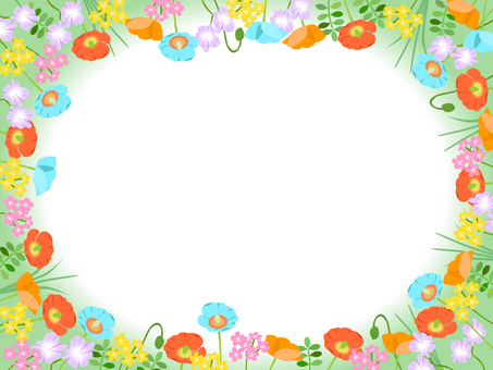 Various flowers Frame 01