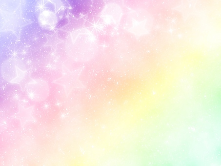 Rainbow colored background glitter