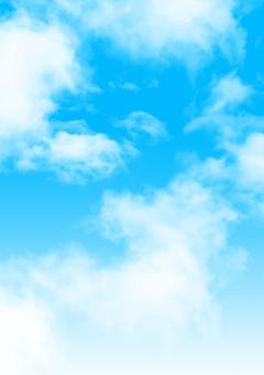 구름과 하늘 그라데이션 g