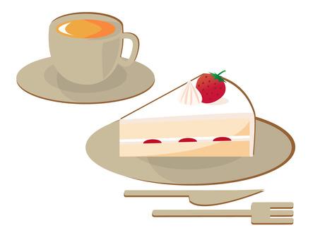 Cake coffee