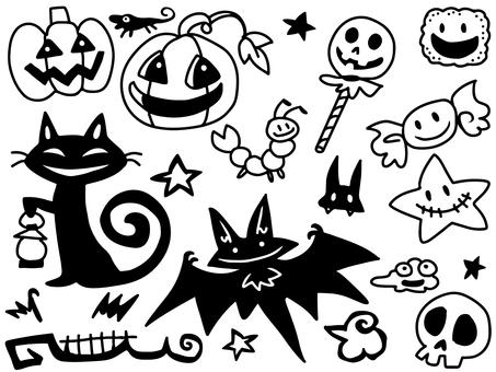 Halloween cut