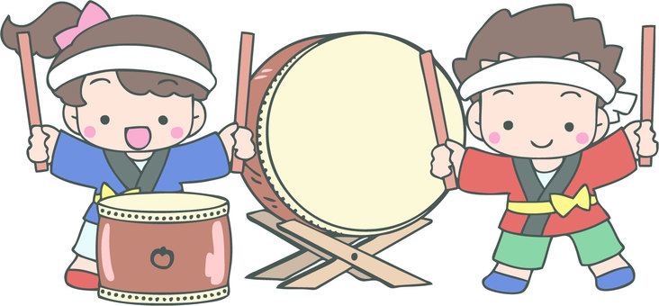 Let's beat the drum
