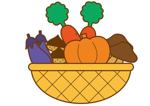 Autumn vegetables 4c