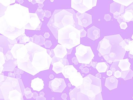 Hexagon Purple
