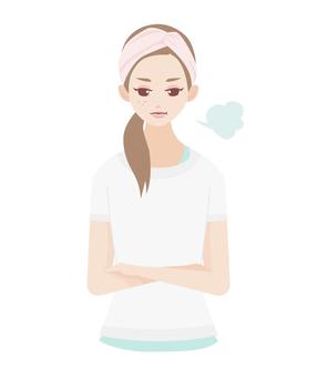 Skin Care Skin Sighs Woman