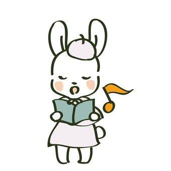 Singing rabbit