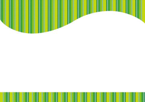 Border frame - GREEN