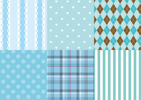 Girly Mint Pattern