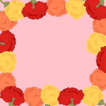 Carnation background (pink)
