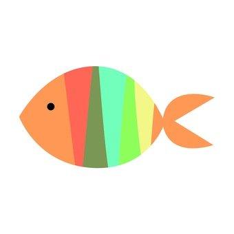 Colorful fish 7