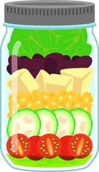 Jar salad A