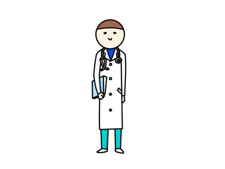 醫生在病人的一面