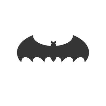 Bat icon illustration