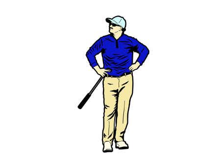 Golfer (color)