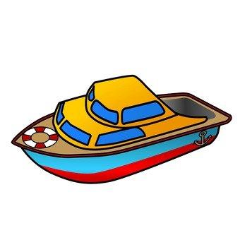 Pompon boat