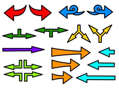 Arrow set color