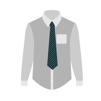 Shirt and necktie
