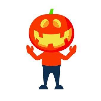 Pumpkin Man (2)