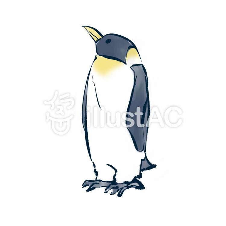 皇帝ペンギン2イラスト , No 796698/無料イラストなら
