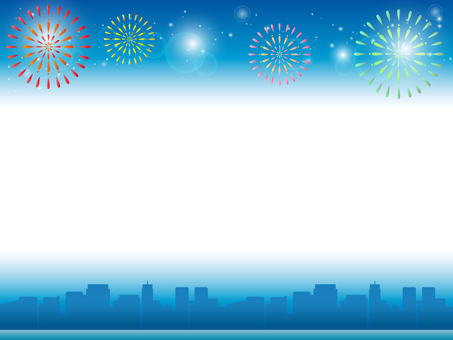 Fireworks background 2