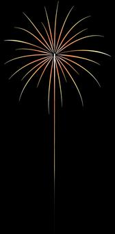 ai Fireworks 4 Palm (golden palm)