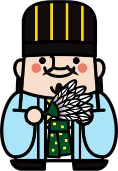Uncle fairy Mizushige Ryo