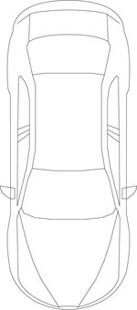 For car construction drawing