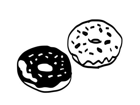 Handwritten donuts