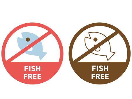 Food allergy label fish