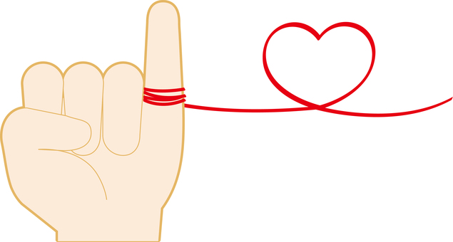 Red string of fate ♡