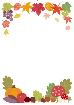 秋天的框架(大圖案)