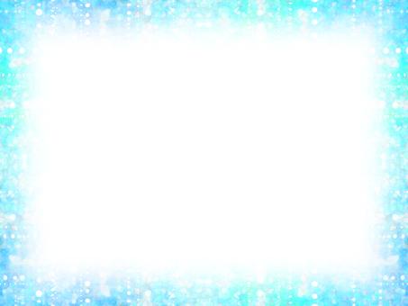 Dot frame 9 (blue)