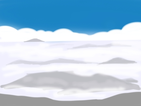 Sea of ​​clouds