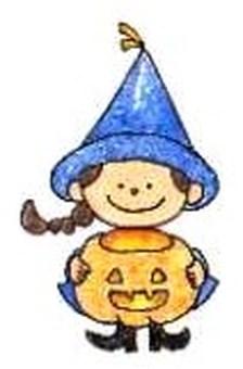 Halloween: Witch child ②