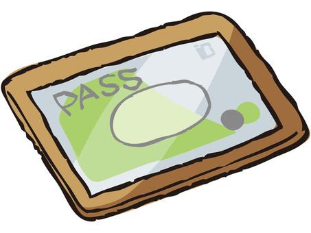 Pass holder