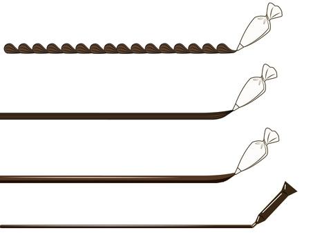 Fresh Cream & amp; Chocolate Pen - Chocolate -