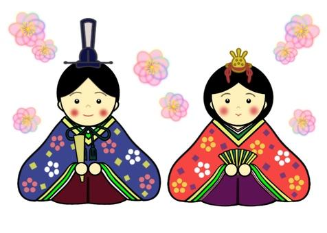 Hinamatsuri illustration①