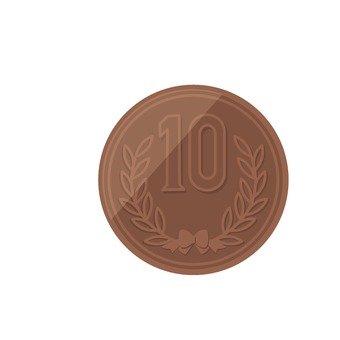 10 엔 동전