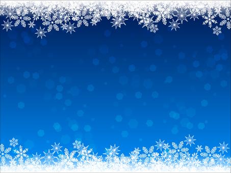 눈 · 크리스탈 겨울 배경 추운