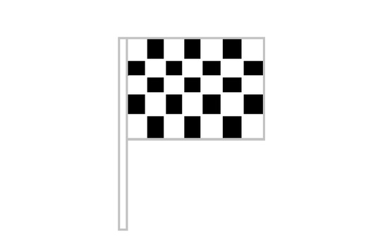 Checker flag issue