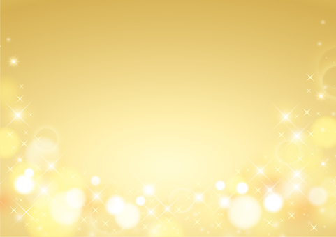黄金色のキラキラフレーム01
