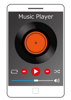 Music player · application