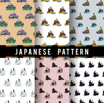 Ukiyo-e pattern 10
