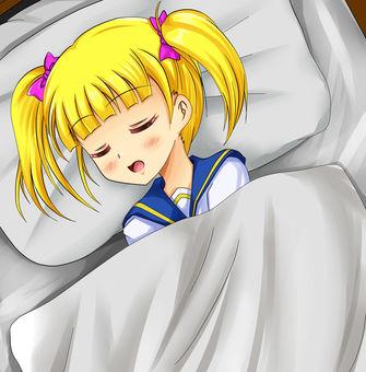 Lollipup sleeping face