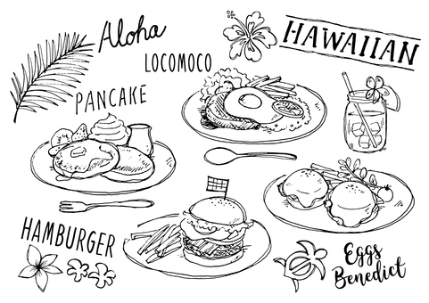 Hawaiian Menu
