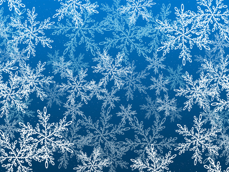 Snow crystal background material Texture 1