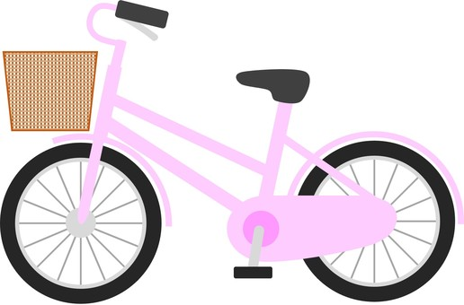 Mommy care and bicycle