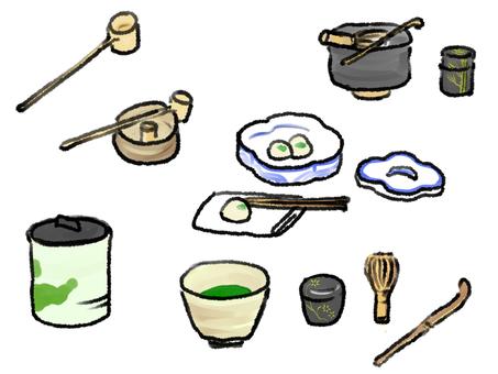 Tea ceremony equipment